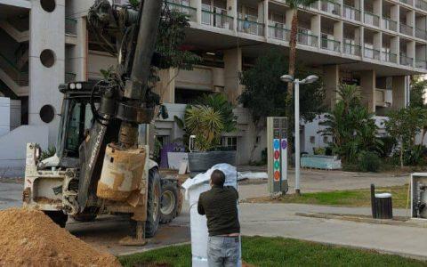 טרקטור קודח בור עבור צינור HDPE