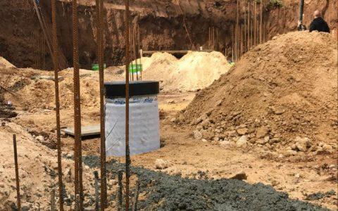 צינור HDPE קשיח באדמה