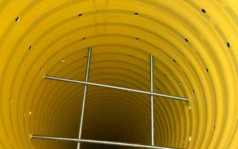צינור לניקוז מי גשם לבור חלחול 1