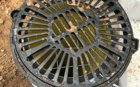 צינור לניקוז מי גשם לבור חלחול 8
